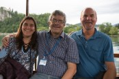 Barbara Galletti, Javier Rodriguez (Representative of Costa Rica and expert in Ecology, Evolutionary Biology, Marine Biology) and PWF Founder Greg Kaufman.